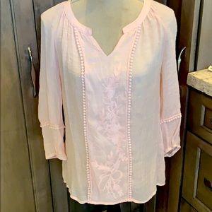 Pale Pink Boho shirt 😍😍😍